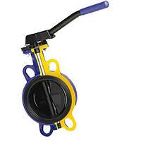 Затвор дисковый поворотный Баттерфляй Zetkama тип 497 DN100 PN16