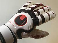 Перчатки вратарские UHLSPORT р.8  с защитными вставками