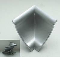 Уголок внутренний для гладкого алюминиевого плинтуса