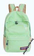 Стильный рюкзак зеленого цвета. Акция!