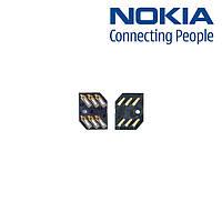 Коннектор SIM-карты для Nokia 2323c/2330c/2720f, оригинал