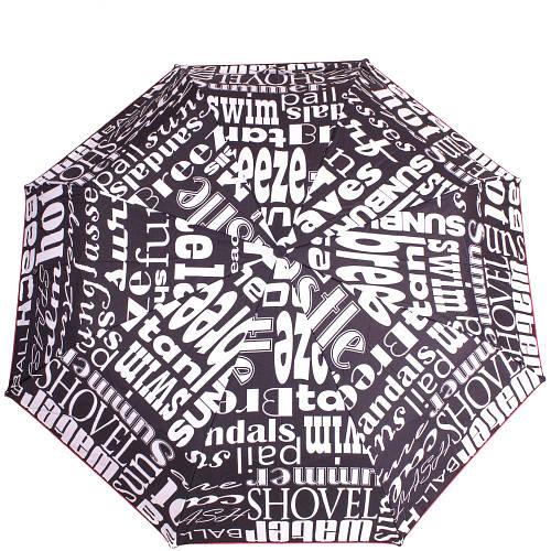 Зонт женский полуавтомат AIRTON (АЭРТОН) Z3615-98  Черный Антиветер