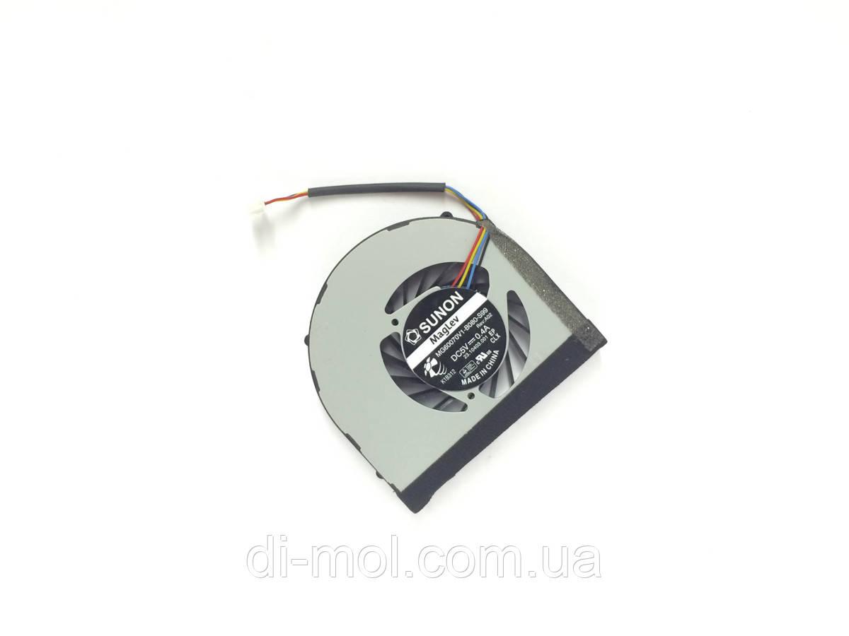Вентилятор для ноутбука Lenovo IdeaPad S205, U160, U165 series, 4-pin (Rev:А02)