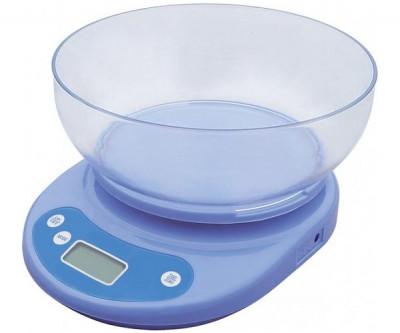 Кухонні ваги з чашею до 5 кг (точність 1 грам)