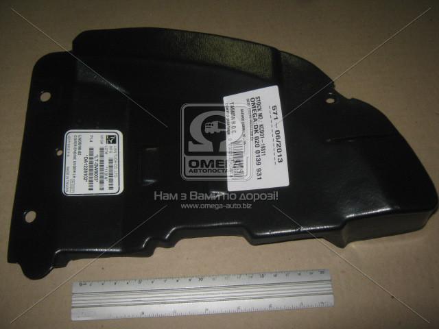 Защита бампера пыльник правый DAEWOO LANOS (Део Ланос) (пр-во TEMPEST)