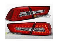 Задние фонари Mitsubishi Lancer X \ Митсубиси Лансер 10 2008-2011 г.в.