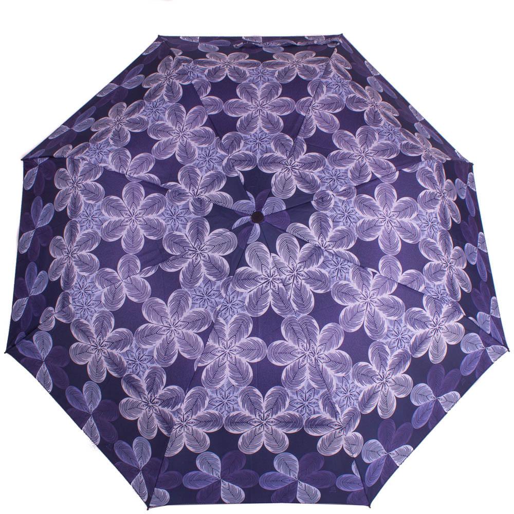 Зонт женский полуавтомат AIRTON Z3615-99 синий антиветер