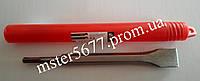 Зубило лопаточное SDS-PLUS с победитовой напайкой 17x250x30