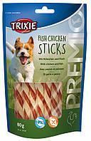 Trixie PREMIO Fish Chicken Sticks Лакомство для собак с курицей и рыбой