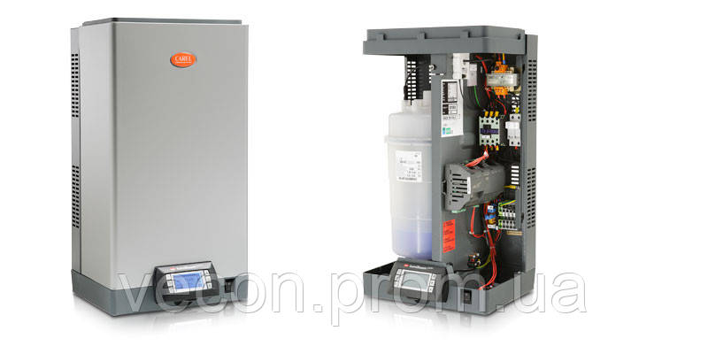 UE035YL001 Увлажнитель humiSteam Basic 35 кг/ч, 400 В 3 фазы, вкл./выкл или пропорционально, неразборный цилин