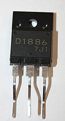 Транзистор 2SD1886 (TO-3PML)