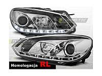 Передние фары Volkswagen  Golf 6 \ Фольксваген  Гольф 6 2008-2012 г.в.