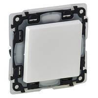 Legrand Valena LIFE Выключатель 6А 250В кнопочный, автоматические клеммы IP44 Белый (752171)