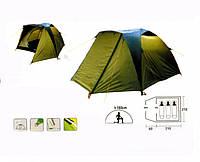 Палатка трехместная Coleman Х-1011 (Польша), фото 1