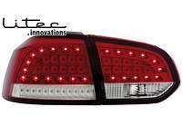 Задние фонари Volkswagen  Golf 6 \ Фольксваген  Гольф 6 2008-2012 г.в., фото 1