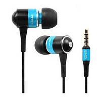 Наушники HF MP3 AWEI ES-Q3 Blue