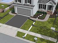 Комплексное благоустройство территории, укладка плитки тротуарной и асфальтирование организация отвода воды