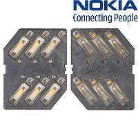 Коннектор SIM-карты для Nokia N76/N96, оригинал
