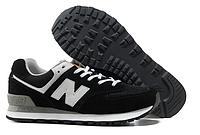 Кроссовки New balance 574 черного цвета