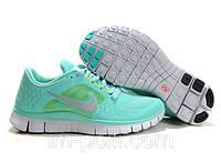 Nike Free Run 5.0 Кроссовки для бега бирюзового цвета