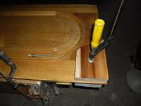 Ремонт трещины деревянной двери