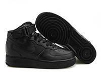 Мужские кроссовки Nike Air Force 1 High Черные