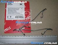 Пружины прижимные (скобы) для суппорта Матиз. пружина суппорта  Опель Вектра 109-1100.