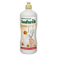 Засіб для миття посуду Ludwik  з ромашкою 1л