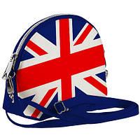 Сумочка Кокетка с принтом Флаг Великобритании