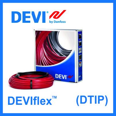 Нагревательный кабель DEVI двухжильный DEVIflex 18Т - 2135 Вт.