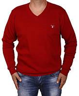 Свитер мужской Gant-36 красный
