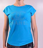 Женская футболка шанель