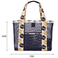 Летняя сумочка для пляжа Синий
