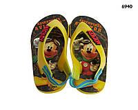 Вьетнамки Mickey Mouse для мальчика. размер 22/23; 24/25; 26/27; 28/29; 30/31; 32/33