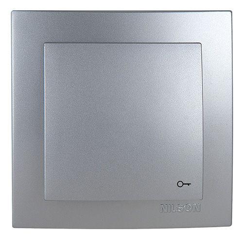 Nilson Touran Кнопка Дверного Автоматичного Замка Срібло (13)