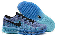 Кроссовки Nike Air Max Flyknit Blue Black White