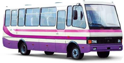 Автобус эталон а-079 баз, грузовик тата 613