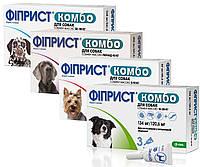 Капли от блох и клещей для собак KRKA Fiprist Combo Spot On (Фиприст Комбо)
