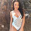 Женский шикарный слитный купальник, 2 цвета. Фк-109-0417, фото 3