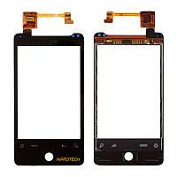 Сенсор (тачскрин) HTC G9 A6366 Aria, A6380 Gratia Black Original