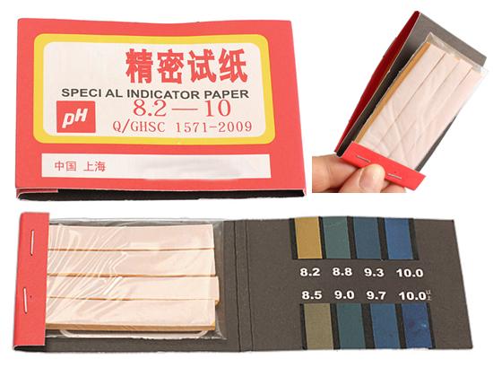 Лакмусовий папір 8.2-10 рН тест смужок 80