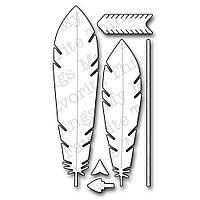 Ножи для вырубки My Favorite Things Feathers & Arrows (815765018647)