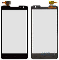 Сенсор (тачскрин) для Prestigio MultiPhone 5044 Duo, Pioneer S90W Black