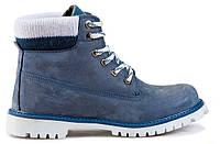 Женские ботинки Palet голубые  37