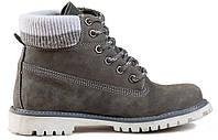 Женские ботинки Palet серые 38