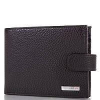 Кожаный стильный мужской кошелек KARYA (КАРИЯ) SHI0418-2FL Черный
