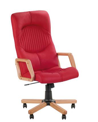 Кресло офисное Germes Extra-1.007 механизм Tilt экокожа Eco-90 (Новый Стиль ТМ), фото 2