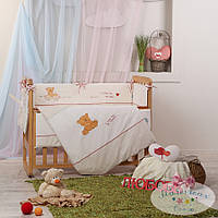 Набор в детскую кроватку Детские мечты, My mammy красный  (6 предметов), фото 1