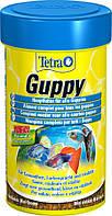Tetra Guppy 100ml - хлопья для всех видов Гуппи