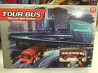 Игра железная дорога автобус 43*29,5см